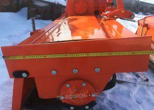 Почвофреза 1GQN 220 оранжевая ширина