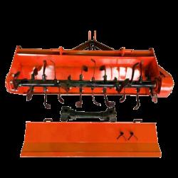 Почвофреза 1GQN-120 боковой редуктор захват 1.1м (Оранжевая)