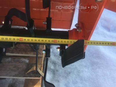 Почвофреза 1GQN 160 оранжевая длина вала